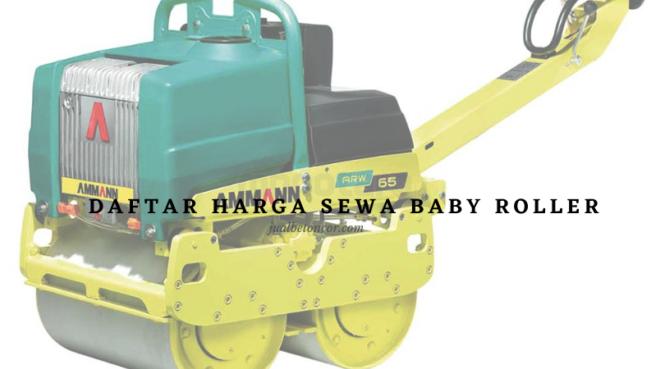 Daftar Harga Sewa Baby Roller Terbaru