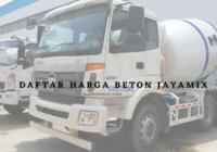 Jual Beton Jayamix